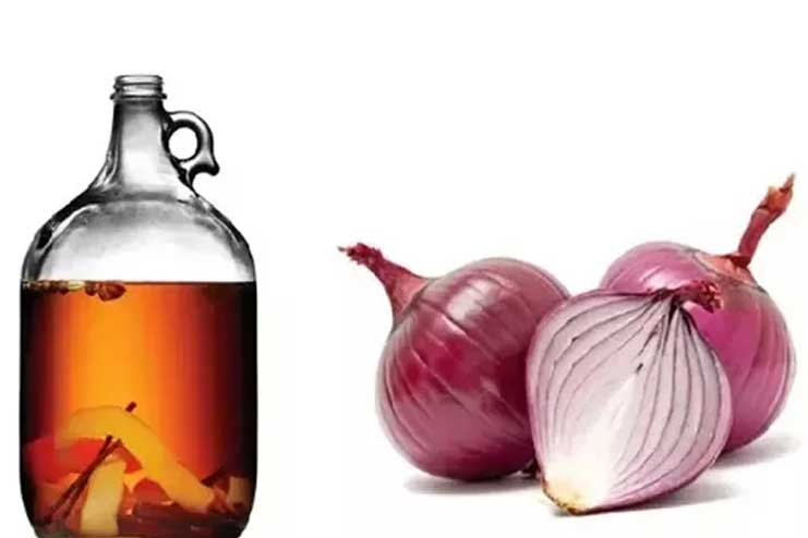 Steaming-Hair-with-Onion