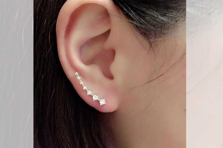 Wave-Ear-Cuffs
