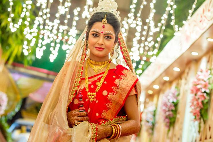 Bengali-Bridal-Look
