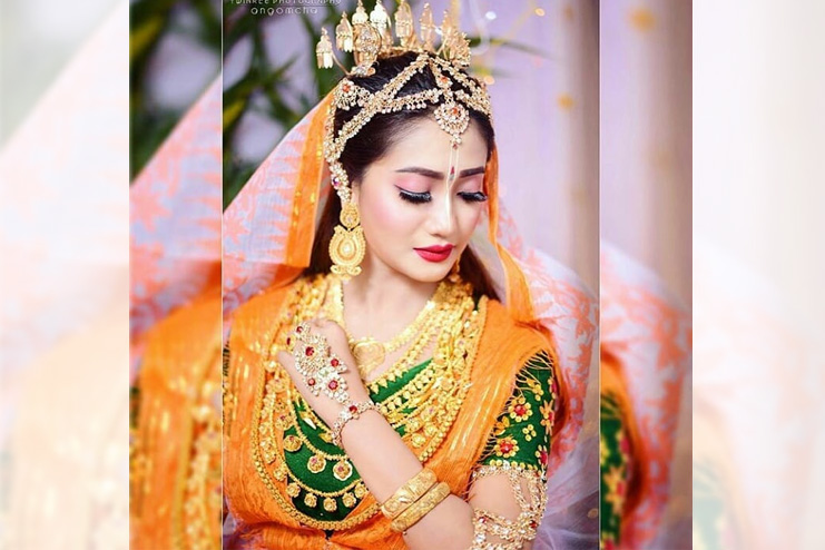 Manipuri-Bridal-Look