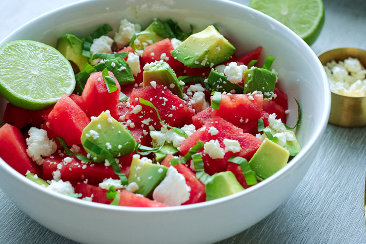Avocado watermelon