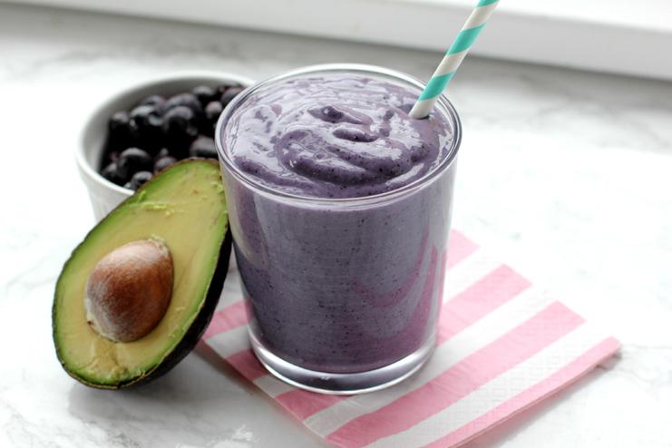 Blueberry and avocado