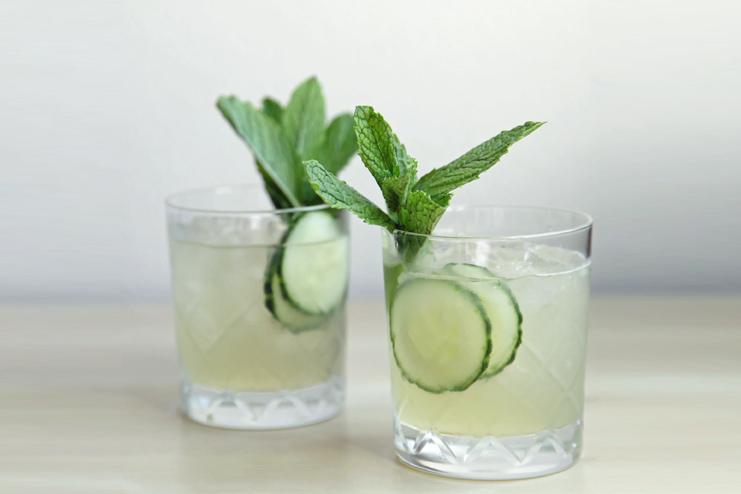 Cucumber detox tea