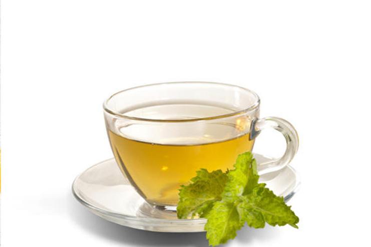 Mint detox tea for weight loss