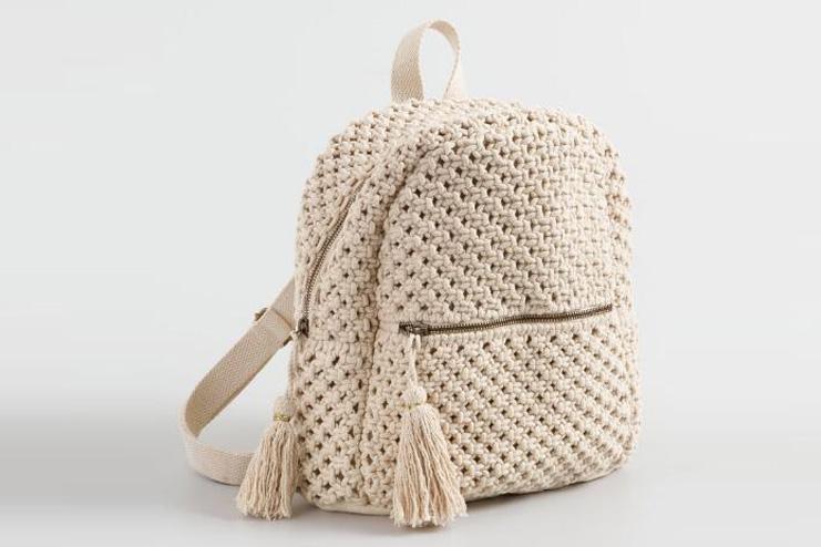 Macrame Backpack