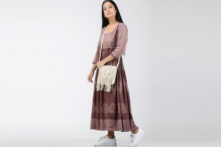 Macrame bag for ethnic