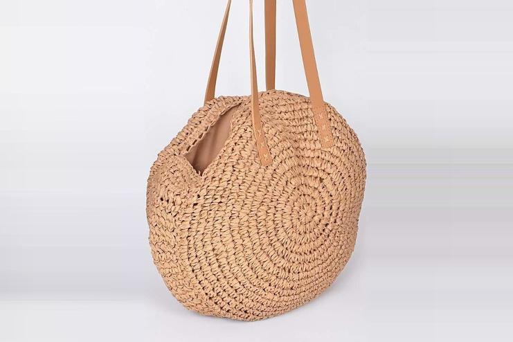 Macrame circle bag