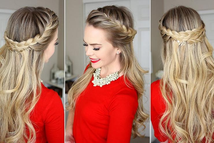French-crown-braid