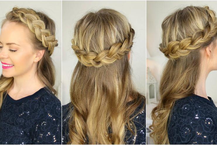 Half-up-crown-braid