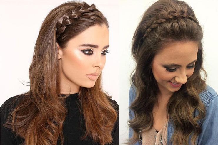 Headband-Crown-Braid