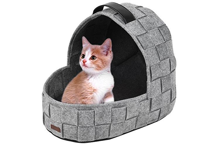 Igloo cat cave