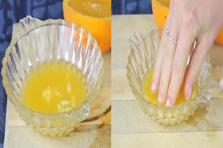 Orange Juice For Nails