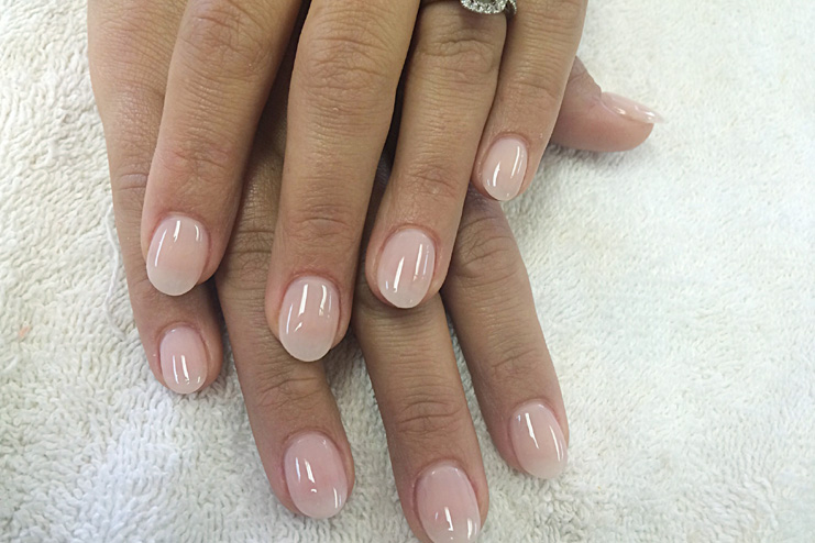 Perfect Oval Shaped Nails