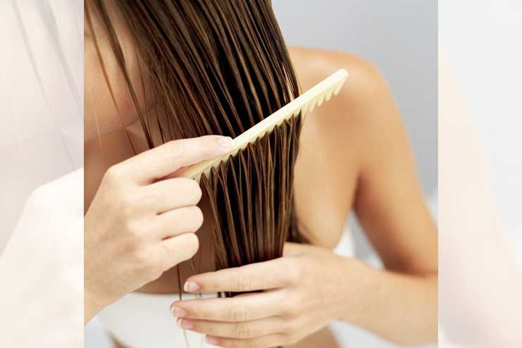 Comb-before-brushing