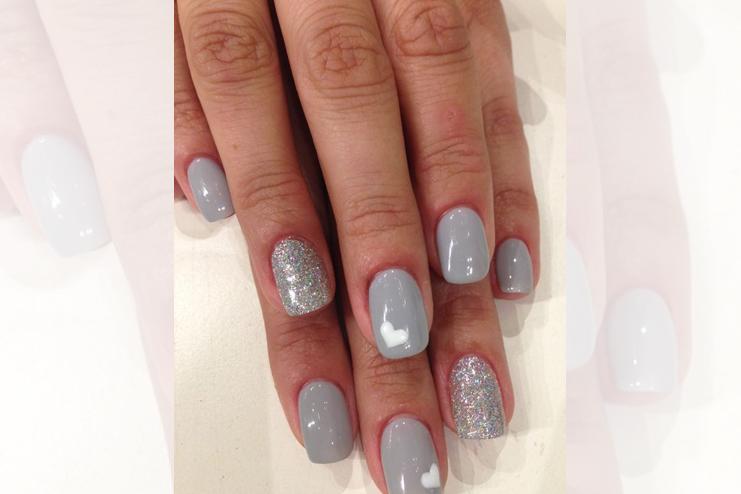 Gray-Nail-Polish