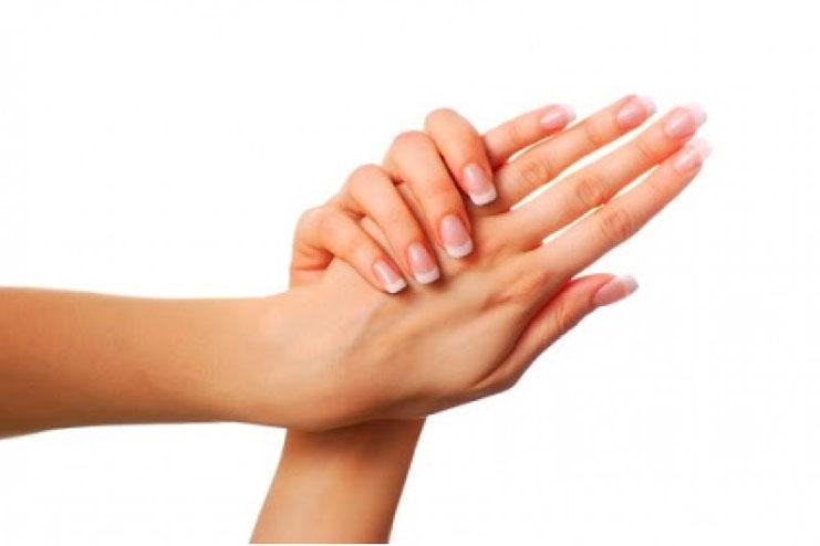 Homemade wax for hands