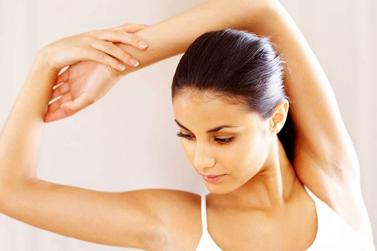 Homemade wax for underarms