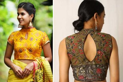 11 Latest Designs for Cotton Blouses- Classy Styles Of Saree Blouses