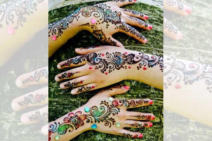 Multi-colours-in-mehndi